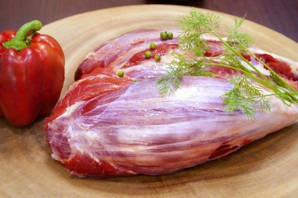 Chọn phần thịt bắp tươi